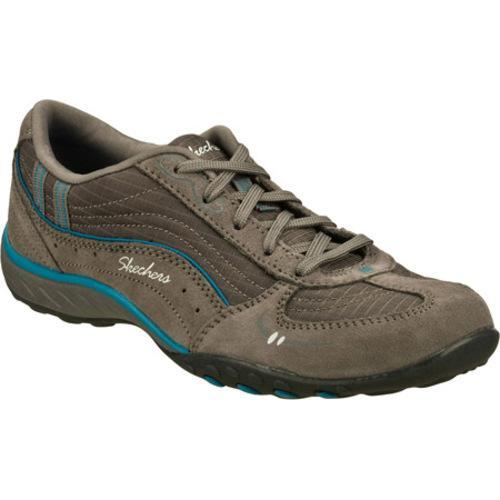 Women's Skechers Relaxed Fit Breathe Easy Just Relax Gray/Blue