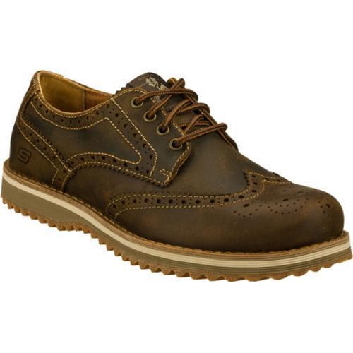 Men's Skechers Ridge Vanek Brown/Brown