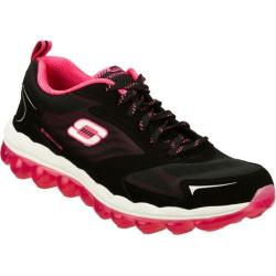 Women's Skechers Skech-Air Black/Pink