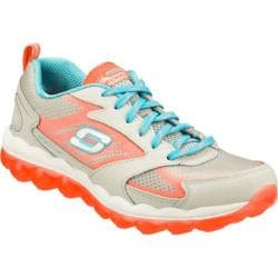 Women's Skechers Skech-Air Gray/Coral
