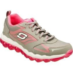 Women's Skechers Skech-Air Gray/Pink