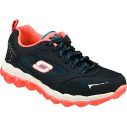 Women's Skechers Skech-Air Navy/Coral
