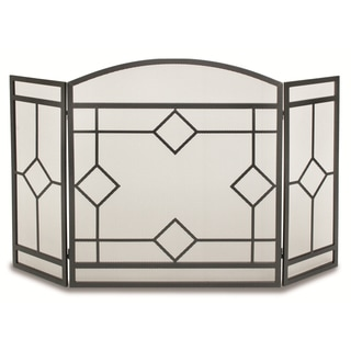 Pilgrim Home & Hearth NF Art Nouveau 3-panel Folding Fireplace Screen