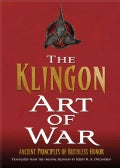 Klingon Art of War (Hardcover)
