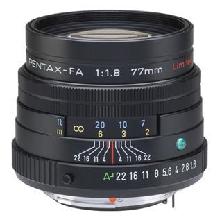 Pentax smc P-FA 77mm F1.8 Telephoto Lens