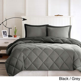 Comfort Classics Windsor Stain Resistant Down Alternative 3-piece Comforter Set
