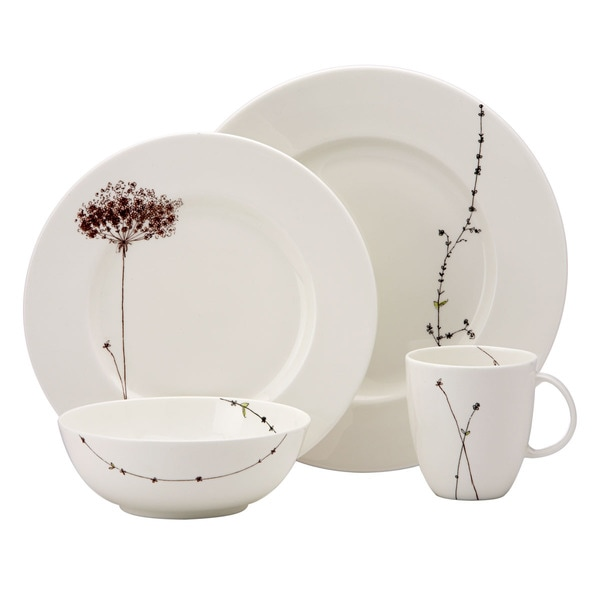 Lenox Flourish 4-Piece Dinnerware Place Setting