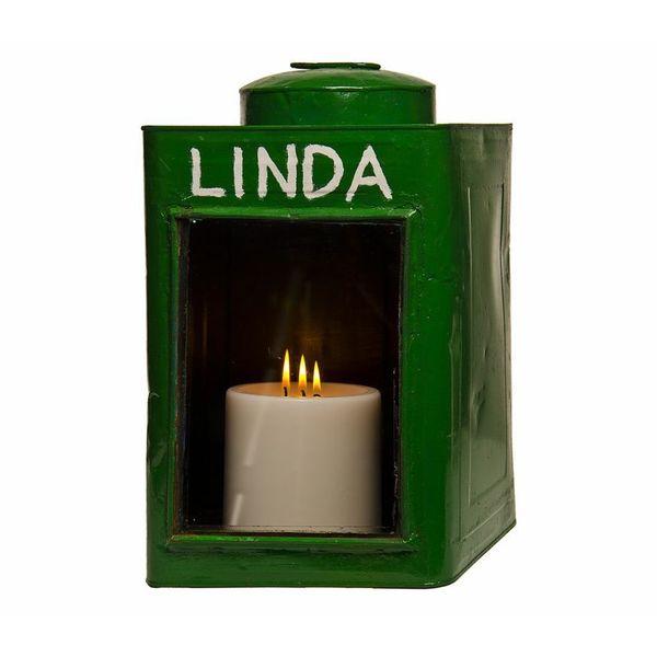 Krupuk Green Candle Holder