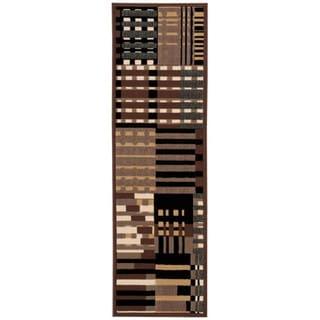 Nourison Modesto Grey Runner Rug (2'2 x 7'3)