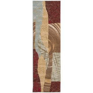 Nourison Modesto Brown Rug Runner (2'2 x 7'3)