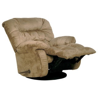 Catnapper Teddy Bear Saddle Chaise Swivel Glider Recliner