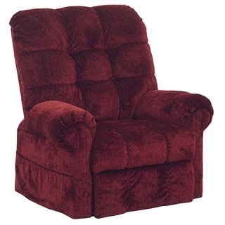 Catnapper Omni Chianti Power Lift Full Lay-out Chaise Recliner with Heavy Duty Capacity