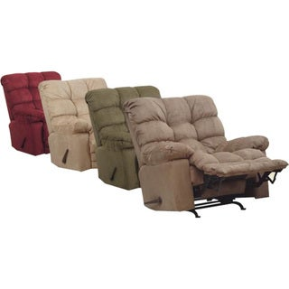 Catnapper magnum big man heat massage sage chaise rocker for Catnapper magnum chaise recliner