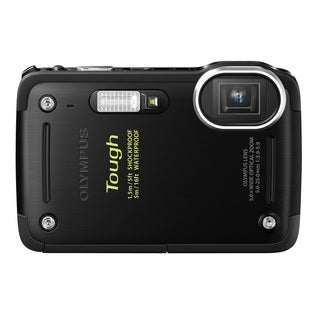 Olympus TG-620 i HS 12MP Black Waterproof Digital Camera
