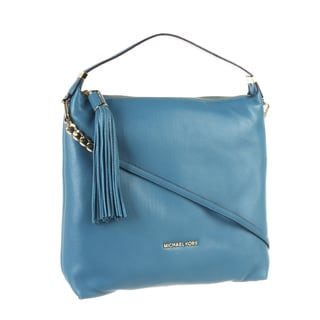 Michael Kors Weston Large Top Zip Shoulder Bag - Turquoise