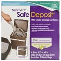 SmartyKat SafeDeposit Litter Waste Storage Container