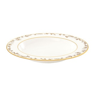 Lenox Golden Bough Pasta/ Rim Soup Bowl