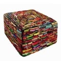Handcrafted Square Glass Bangles Jewelry Box (India)