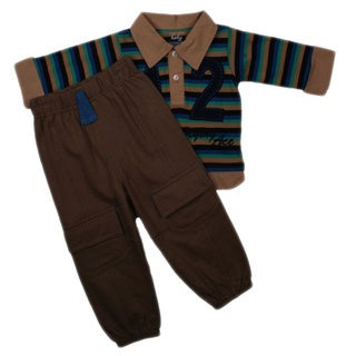 Mon Cheri Boys 2-piece Flying Ace Pant Set
