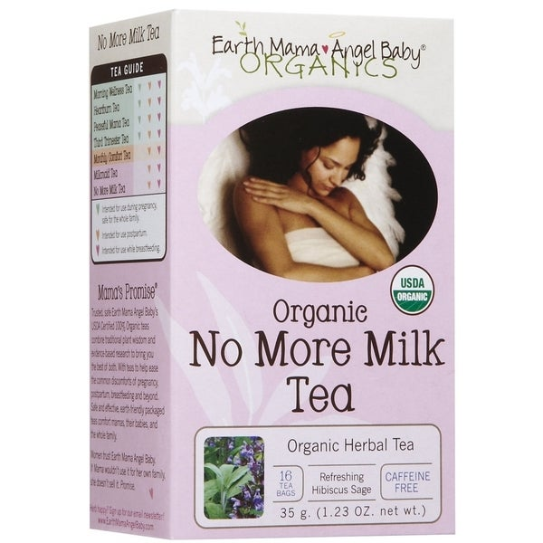 Earth Mama Angel Baby Organic No More Milk Tea