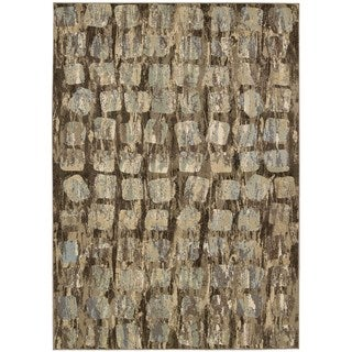 Nourison Modesto Transitional Beige Area Rug (7'10 x 10'6)