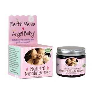 Earth Mama Angel Baby 2-ounce Natural Nipple Butter