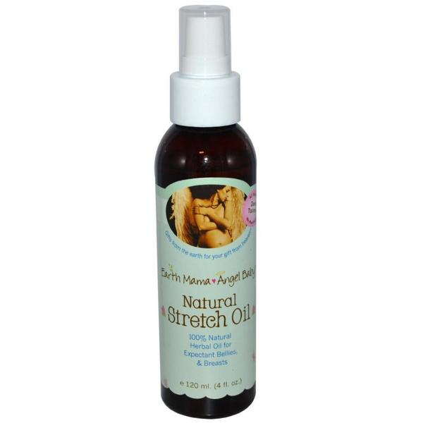 Earth Mama Angel Baby 4-ounce Natural Stretch Oil
