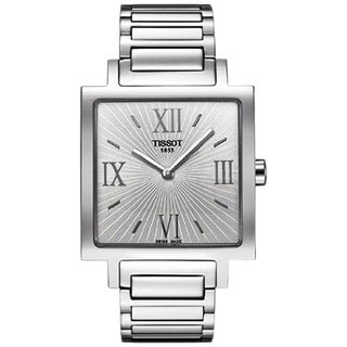 Tissot Women's 'T-Trend Happy Chic' Silvertone Dial Watch