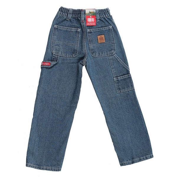Farmall IH Junior Boy's Medium Stonewash Carpenter Jeans