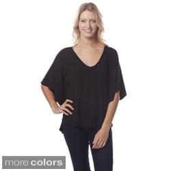 A to Z Women's Batwing V-neck Blouse