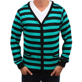Something Strong Men's Striped Lightweight Cardigan