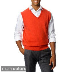 Ply Cashmere Men's V-Neck Vest