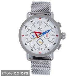 Giulio Romano Men's 'Toscana' Stainless Steel Watch