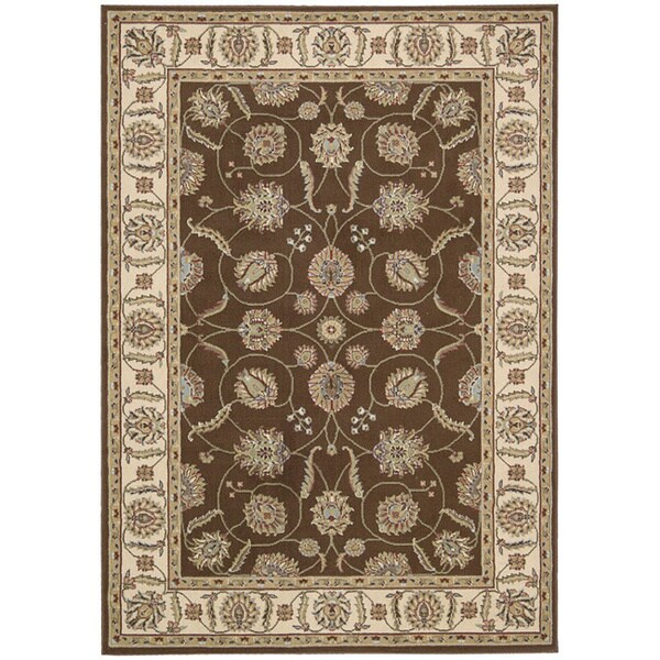 Nourison Modesto Brown Area Rug (7'10 x 10'6)