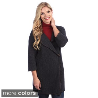 Ply Cashmere Women's 3/4-length Sleeve Coat