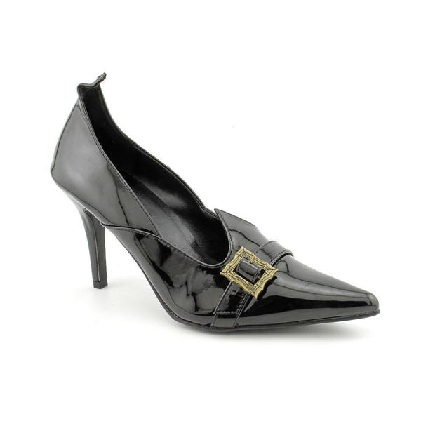 Funtasma Women's 'Witch-02' Black Patent Leather Witch Pumps