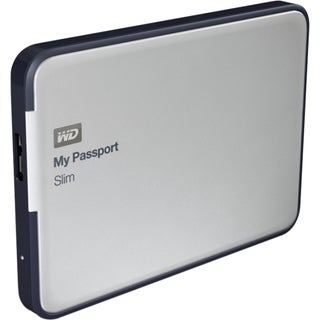 WD My Passport Slim WDBGMT0010BAL-NESN 1 TB External Hard Drive