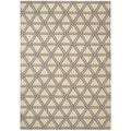 kathy ireland Home Hollywood Shimmer Bisque Area Rug (7'9 x 10'10)