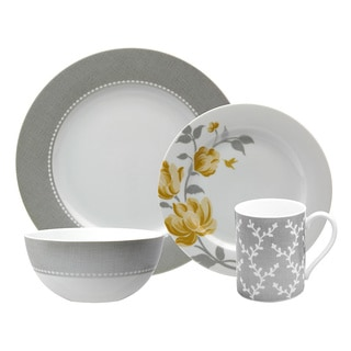 Nikko 'Fanciful Yellow' 4-Piece Placesetting