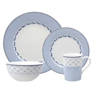 Nikko 'Blue Brushstroke' 4-piece Placesetting
