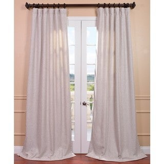 Oatmeal Linen Curtain Panel