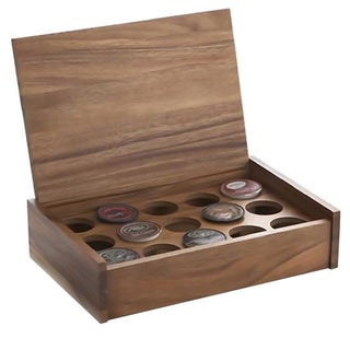 Woodard & Charles 15-cups K-Cup Storage Gift Box