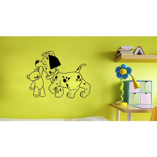 'Dalmatian Puppy' Vinyl Decal Wall Art Mural