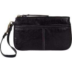 Women's THE SAK Iris Large Wristlet Black Onyx