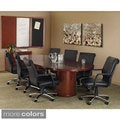 Mayline Mira 6-foot Veneer Racetrack Conference Table