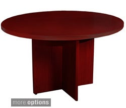 Mayline Luminary 42-inch Round Conference Table