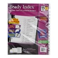Avery Ready Index Durable Table of Contents Dividers (3 Sets of 15 Tabs)