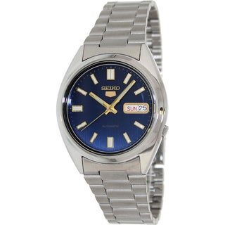 Seiko Men's '5 Automatic' Blue Dial Automatic Watch