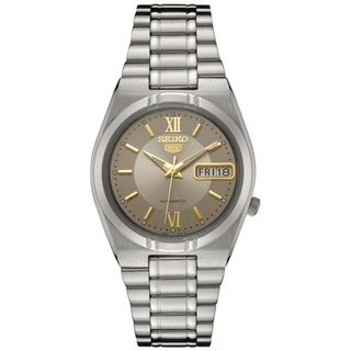 Seiko Men's Automatic Silver Stainless Steel Watch