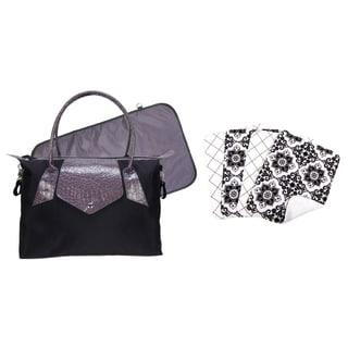 Trend Lab Grey Diaper Bag 6-piece Set